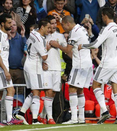 Golea el Real Madrid 3-0 al Almería con asistencia del 'Chicharito'