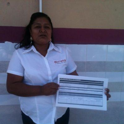 ELECCIONES 2015: Candidata de Morena, la primera presentar su declaración patrimonial al iniciar campaña en Cancún