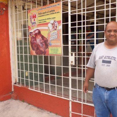 Tras la muerte de niño de 2 años por intoxicación, se desploman ventas en asaderos de pollo en Chetumal