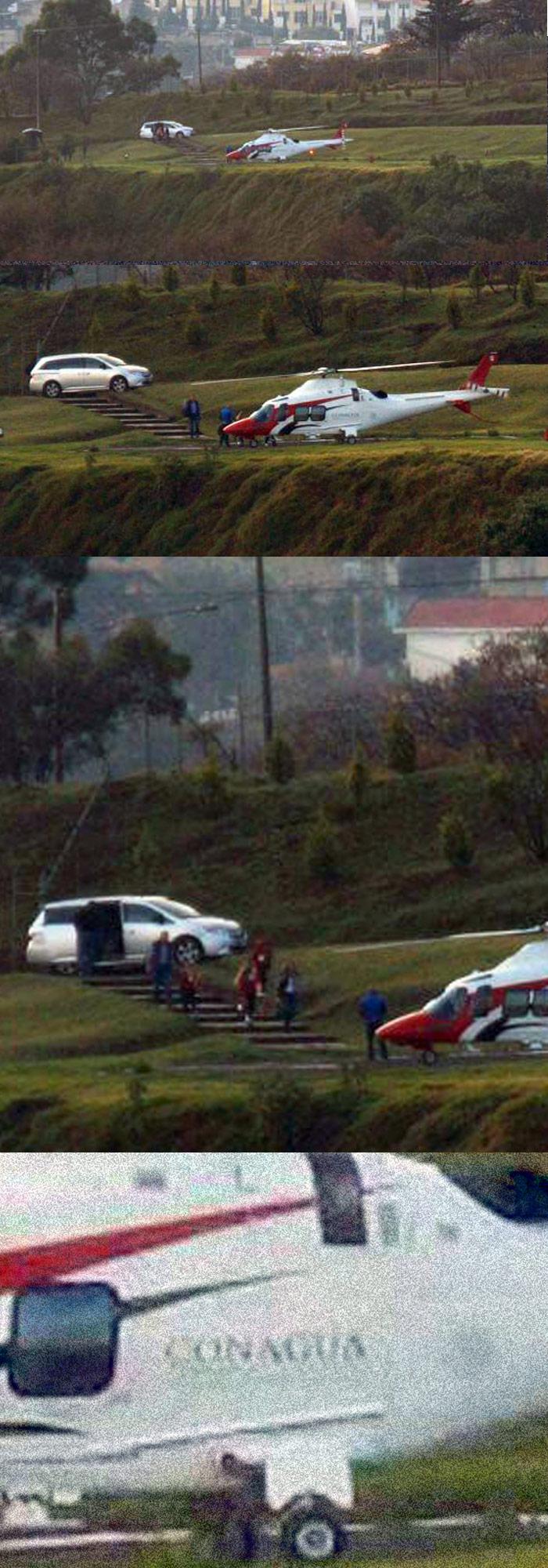 HELICÓPTERO OFICIAL AL SERVICIO PRIVADO DE KORENFELD: Exhiben al titular de Conagua por uso de bienes públicos para su familia