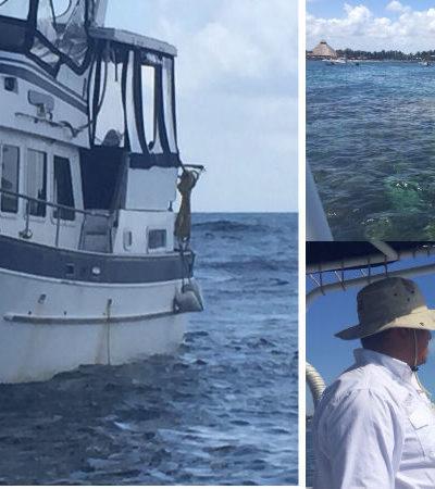 ENCALLA NAVÍO EN ARRECIFE DE PUNTA NIZUC: Inspecciona Profepa magnitud de daño provocado por embarcación de EU