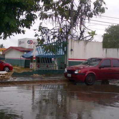 CHOCA CAMIONETA CONTRA BARDA DE ESCUELA: Casi termina en tragedia el Día del Niño en primaria de Chetumal