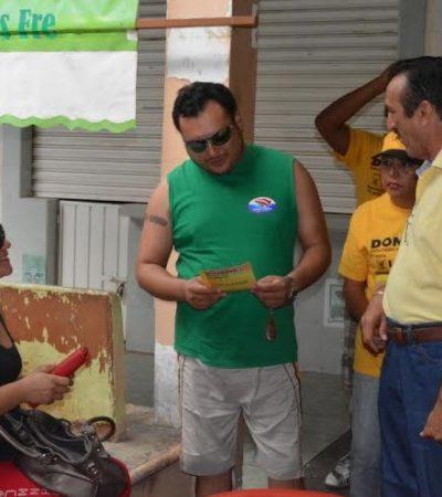 Recorre Domingo Flota calles y mercados de Chetumal y escucha la misma queja: están cansados de la corrupción