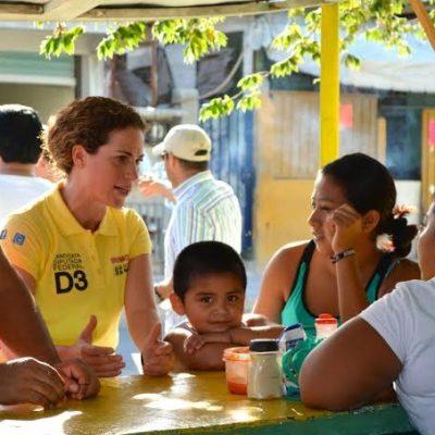"""""""VAMOS A RECONSTITUIR EL TEJIDO SOCIAL"""": Dice Iris Mora que el Estado abandonó su capacidad de asegurar el bienestar de los mexicanos"""