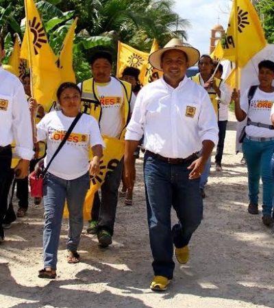 Políticas de rescate al campo y servicios de salud en zonas rurales, propone perredista Sergio Flores en Lázaro Cárdenas