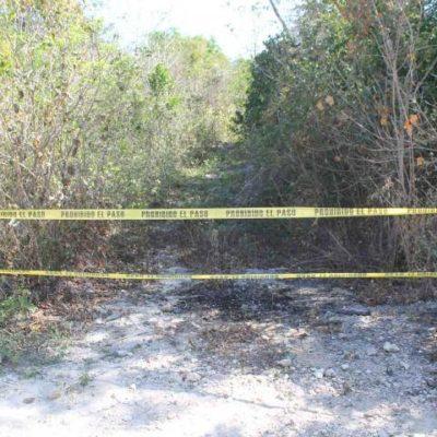 MACABRO HALLAZGO EN CHEMUYIL: Asesinan y calcinan a una mujer en la Riviera Maya