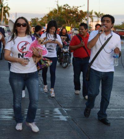 Ante la cancelación del desfile oficial, convocan a marcha alterna del Día del Trabajo en Chetumal
