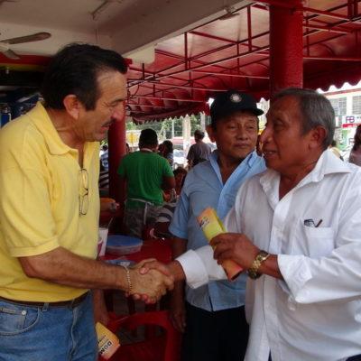 Autonombrado como 'candidato indígena de la Zona Maya', Domingo Flota ofrece llevar la voz de FCP al Congreso