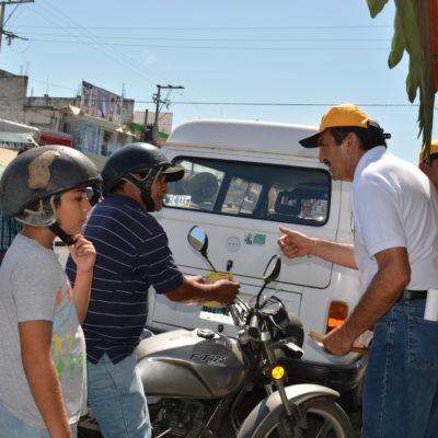 Nulas gestiones y abandono del gobierno son el principal reclamo de locatarios en Chetumal, denuncia Domingo Flota