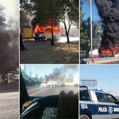 ESTREMECEN A JALISCO INCENDIOS Y NARCOBLOQUEOS: Presunta captura de capo desata infierno en Guadalajara y otras ciudades; cunde el miedo