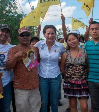 REGRESAR IVA A 11% ES UNA MEDIDA DE JUSTICIA: Dice Iris Mora que buscará fortalecer turismo en Cancún y aumentar derrama