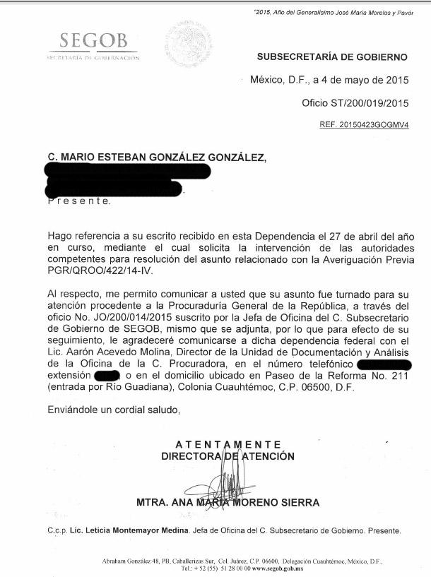 VAN DE NUEVA CUENTA CONTRA SEBASTIÁN: Pone Segob en manos de PGR la denuncia por fraude de constructor contra ex Alcalde de FCP