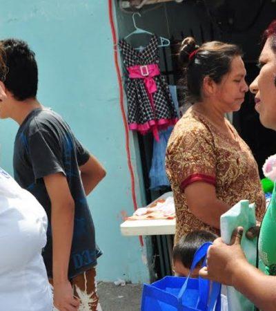 Se compromete Fabiola Ballesteros con la defensa de los derechos de las mujeres trabajadoras