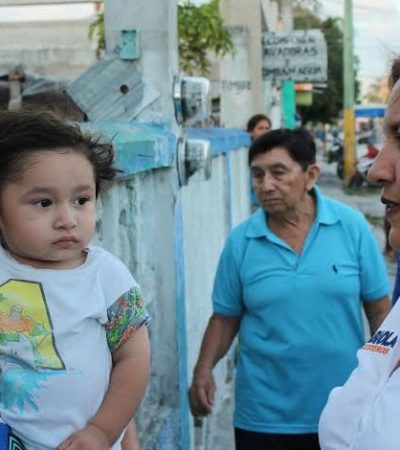 Madres de familia una de mis prioridades: Fabiola Ballesteros
