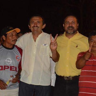 """REAPARECE JULIÁN RICALDE EN APOYO A DOMINGO: Desde la Zona Maya, el ex Alcalde de BJ llama a votar por """"el hombre leal y congruente"""""""