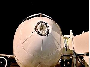 Avión de Aeroméxico en ruta a Madrid es desviado al aeropuerto de Cancún por daño en fuselaje por causas desconocidas