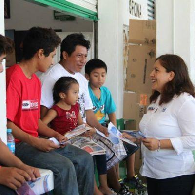 Nuestros jóvenes necesitan más oportunidades para salir adelante y tener un futuro prometedor: Fabiola Ballesteros