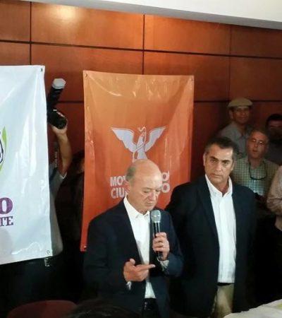 'EL BRONCO' SUMA APOYOS: Declina Fernando Elizondo a favor del candidato independiente a la gubernatura en NL