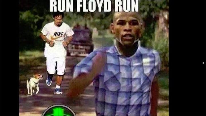 DE LA 'PELEA DEL SIGLO' AL FRAUDE DEL SIGLO: Los memes del encuentro entre Floyd Mayweather y Manny Pacquiao
