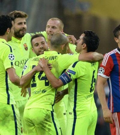 BARCELONA YA ESTÁ EN LA FINAL DE LA CHAMPIONS: Pese a caer ante el Bayern, los españoles avanzan y van por su quinto campeonato europeo