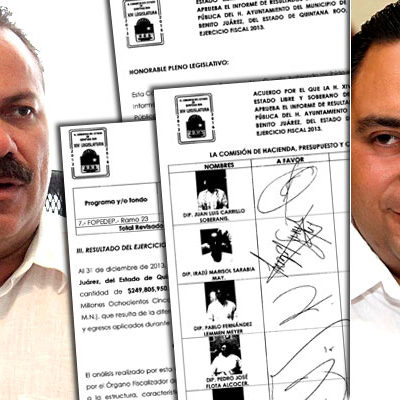 DOBLE RASERO EN LA ASEQROO Y EL CONGRESO: Aprueban diputados cuentas públicas de LC y BJ, pero mantienen 'observaciones'