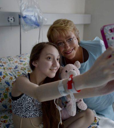 SE FUE A DORMIR PARA SIEMPRE: Muere la niña chilena que le pidió a Bachelet que autorizara la eutanasia