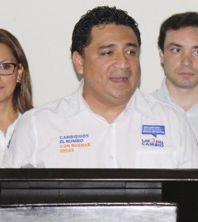 """""""QUE LOS CASTIGUEN"""": Exige el PAN sanciones ejemplares contra el PVEM por ilegalidades y excesos en QR"""