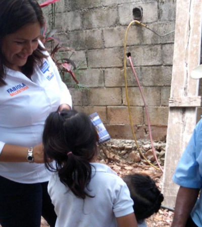 Propone Fabiola Ballesteros garantizar el acceso a una educación digna y mejorar escuelas