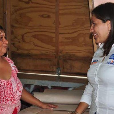 Lograr un gobierno que dé resultados, y mejore las oportunidades para todos los quintanarroenses, propone Fabiola Ballesteros