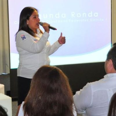 Fabiola Ballesteros llama a la sociedad a votar por un cambio de rumbo en Quintana Roo