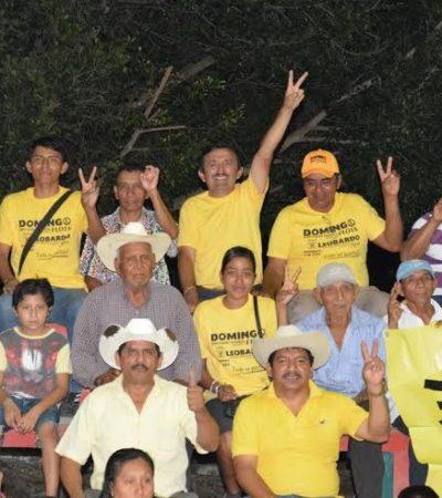 Domingo Flota, el candidato que más ha caminado las comunidades rurales del sur de QR