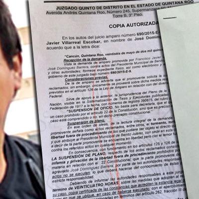 CONCEDEN AMPARO A 'PEPE' DOMÍNGUEZ: Obtiene periodista y tuitero incómodo protección de la justicia contra Borge por ataques e infamias
