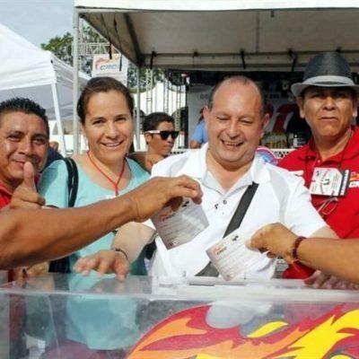 Nueva denuncia contra Remberto Estrada y Mario Machuca en Cancún por utilizar dinero de la CROC para proselitismo y rebasar tope de campaña, publica Reforma