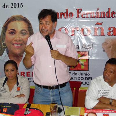 """""""VIENE UNA ELECCIÓN A LA ANTIGÜITA"""": Es un error no querer votar; si no votan, favorecen al PRI, dice Gerardo Fernández Noroña"""