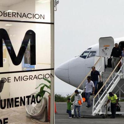 'POLLEROS' DE ALTOS VUELOS: Con la captura de 50 ilegales en avión de VivaAerobús, se exhibe red de traficantes que opera en aeropuerto de Cancún