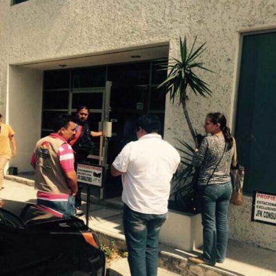 Clausuran despacho de abogado en Cancún; acusan represalias de la comuna por demanda contra José de la Peña