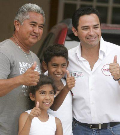 Dice Toledo Medina que trabajará 'hombro con hombro' con Peña Nieto para el mejor crecimiento de QR