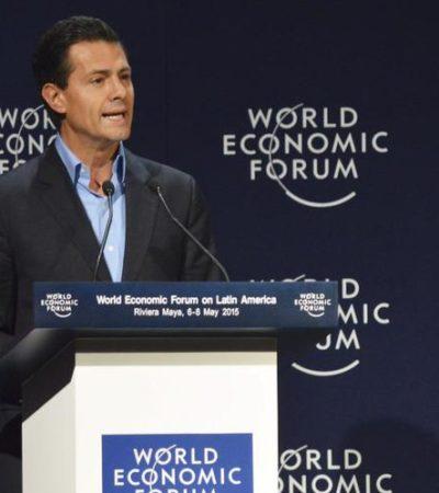 NO SOMOS ASÍ, PERO…: Dice Peña Nieto que a México se le 'estigmatiza' por inseguridad y que se necesita un 'cambio cultural' para combatir corrupción