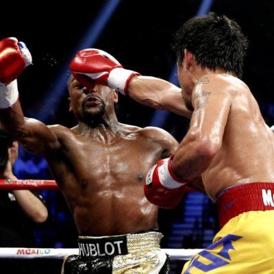 """LA 'DECEPCIÓN' DEL SIGLO: """"Sabía que le estaba ganando fácil"""": Mayweather; """"creo que gané la pelea, él no hizo nada, sólo corrió"""": Pacquiao"""