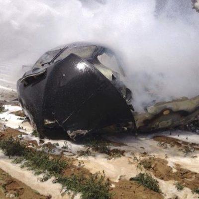 ACCIDENTE AÉREO EN SEVILLA: Caída de un avión militar deja al menos 4 muertos