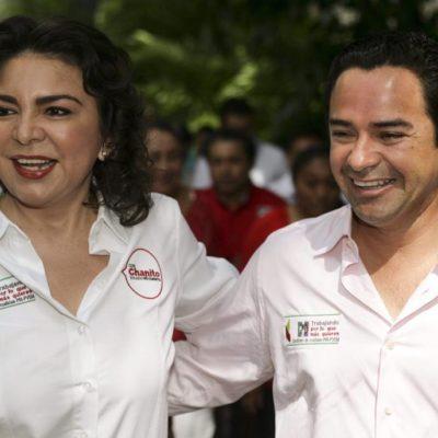 Con el respaldo de Ivonne Ortega, 'Chanito' Toledo ofrece su apoyo a mujeres en QR