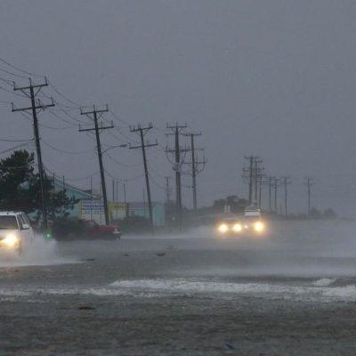 LA PRIMERA DE LA TEMPORADA: Tormenta tropical 'Ana' toca tierra en Carolina del Sur