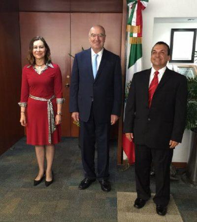 LA MISMA GATA PERO REVOLCADA: Nombra Semarnat como nuevo delegado en QR a otro ex funcionario de Borge