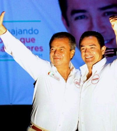 DA CÚPULA PRIISTA ESPALDARAZO A CANDIDATOS EN QR: Recibe 'Chanito' Toledo respaldo de César Camacho Quiroz