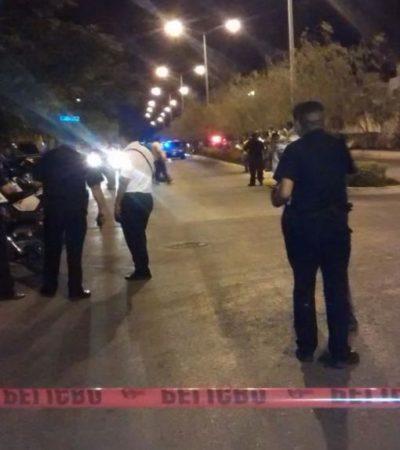 BALACERA QUITA EL SUEÑO A CANCÚN: Rafaguean a un hombre y una mujer en el fraccionamiento Santa Fe; ambos murieron en el hospital