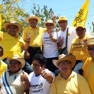 DAN RESPALDO A DOMINGO EN LA RECTA FINAL: Graciela Saldaña y Orlando Muñoz hacen campaña en Chetumal a favor de Flota Castillo