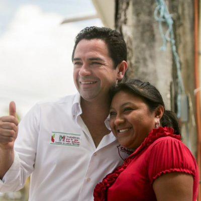 """Dice 'Chanito' Toledo que el PRI sí cumple, está transformado México y los resultados """"se ven en las calles"""""""
