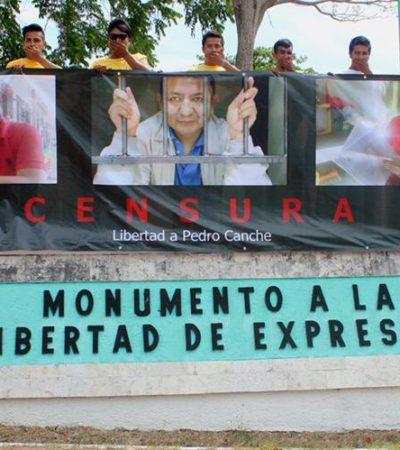 PRESIONAN PARA LIBERAR A PEDRO CANCHÉ: Diputada Graciela Saldaña y regidor Orlando Muñoz exigen sacar de prisión al periodista y activista maya