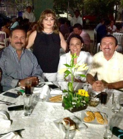 SIMBÓLICO ACTO DE DOMINGO FLOTA: Con Daisy Baeza como anfitriona, candidato del PRD se reúne con sectores en Chetumal y urge al cambio