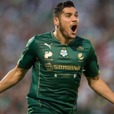 DESPLUMAN EN CRUDO A LOS GALLOS: Con 4 tantos del 'Chuletita' Orozco, Santos se echa el campeonato a la bolsa al golear 5-0 al Querétaro en partido de ida